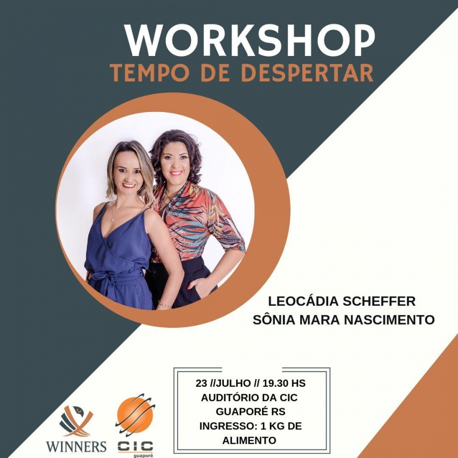 Workshop Tempo de Despertar em Guaporé