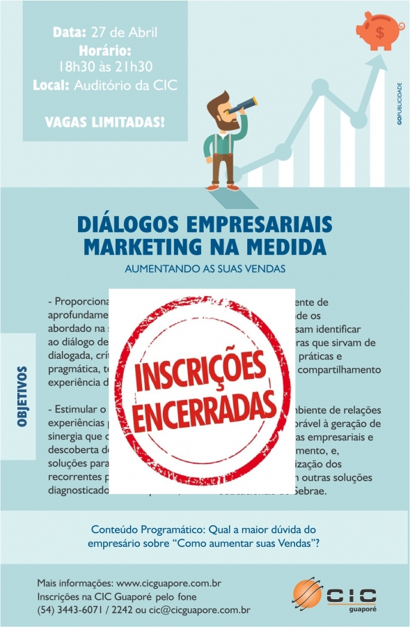 DIÁLOGOS EMPRESARIAIS MARKETING NA MEDIDA